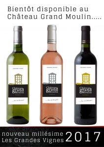 maintenant disponible ..... Les grandes vignes 2017