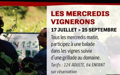 Les mercredis vignerons de Grand Moulin 2019